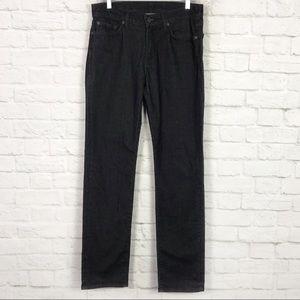 7 For All Mankind Slimmy Windowpane Corduroy Pants